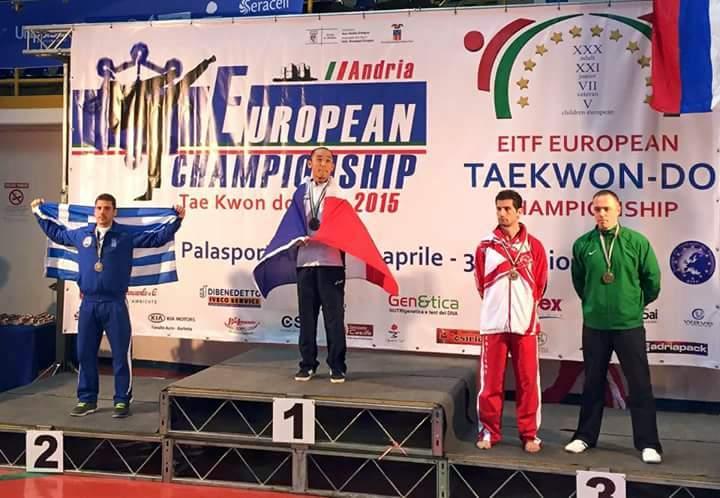 Championnats d'Europe EITF 2015 à Andria