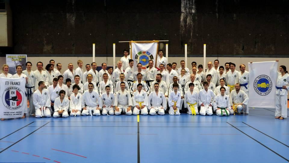 Grand Maître Kim Ung Chol à Grenoble – Edition 2015