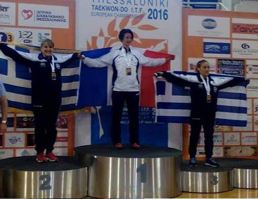 Championnats d'Europe EITF 2016 à Thessalonique
